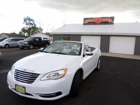 2012 Chrysler 200 Convertible for sale at Grand Prize Cars in Cedar Lake IN