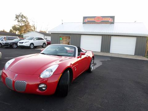 2008 Pontiac Solstice for sale at Grand Prize Cars in Cedar Lake IN