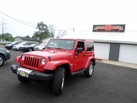 2011 Jeep Wrangler for sale at Grand Prize Cars in Cedar Lake IN