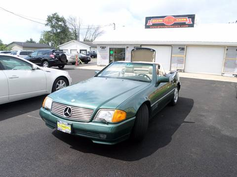 1994 Mercedes-Benz SL-Class for sale at Grand Prize Cars in Cedar Lake IN