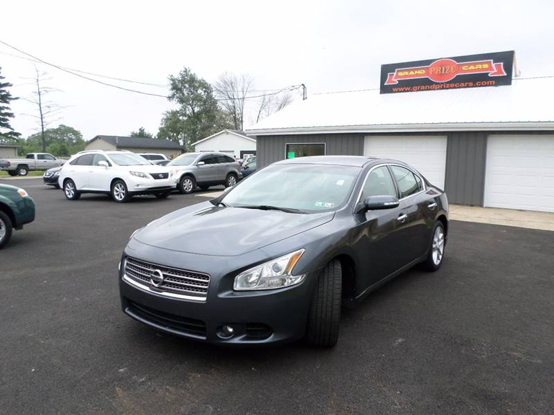 2009 Nissan Maxima For Sale At Grand Prize Cars In Cedar Lake IN