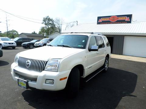 2007 Mercury Mountaineer for sale at Grand Prize Cars in Cedar Lake IN