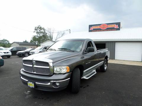 2002 Dodge Ram Pickup 1500 for sale at Grand Prize Cars in Cedar Lake IN