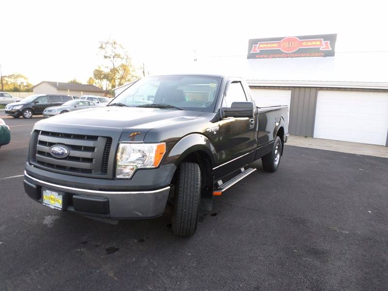 2010 ford f 150 4x2 xl 2dr regular cab styleside 8 ft lb in cedar lake in grand prize cars. Black Bedroom Furniture Sets. Home Design Ideas