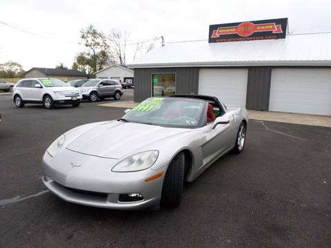 2005 Chevrolet Corvette for sale at Grand Prize Cars in Cedar Lake IN