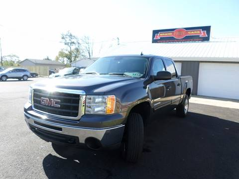 2011 GMC Sierra 1500 for sale at Grand Prize Cars in Cedar Lake IN