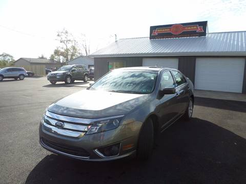 2010 Ford Fusion for sale at Grand Prize Cars in Cedar Lake IN