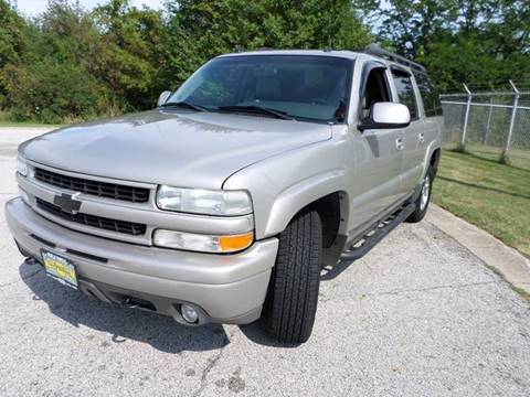 2004 Chevrolet Suburban for sale at Grand Prize Cars in Cedar Lake IN