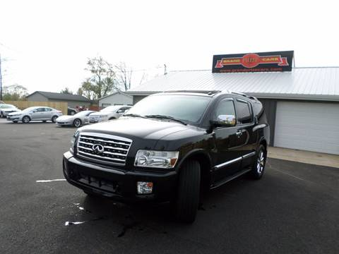 2008 Infiniti QX56 for sale at Grand Prize Cars in Cedar Lake IN