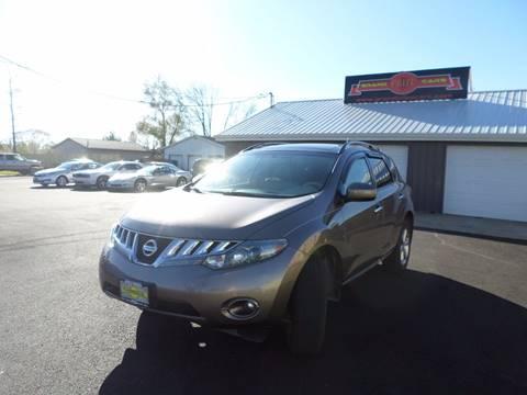 2010 Nissan Murano for sale at Grand Prize Cars in Cedar Lake IN