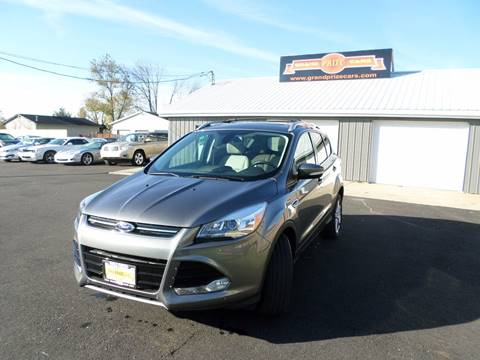 2014 Ford Escape for sale at Grand Prize Cars in Cedar Lake IN