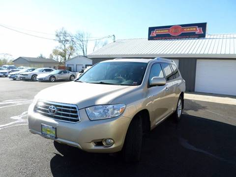 2009 Toyota Highlander for sale at Grand Prize Cars in Cedar Lake IN