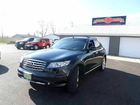 2008 Infiniti FX35 for sale at Grand Prize Cars in Cedar Lake IN
