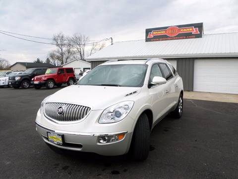 2012 Buick Enclave for sale at Grand Prize Cars in Cedar Lake IN