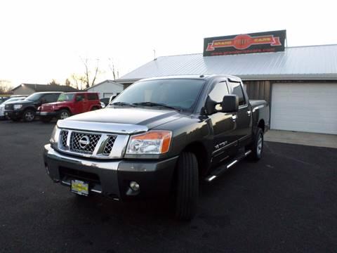 2010 Nissan Titan for sale at Grand Prize Cars in Cedar Lake IN