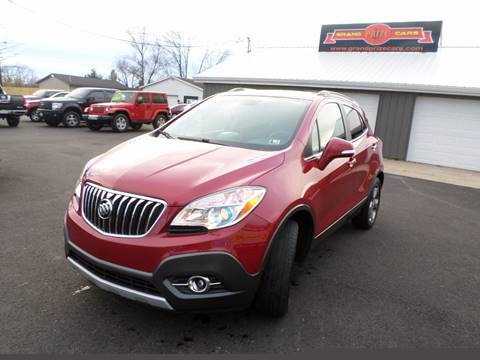 2014 Buick Encore for sale at Grand Prize Cars in Cedar Lake IN