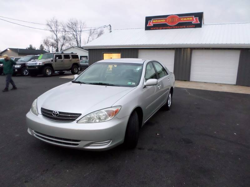 2004 Toyota Camry For Sale At Grand Prize Cars In Cedar Lake IN