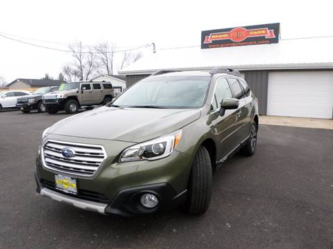 2015 Subaru Outback for sale at Grand Prize Cars in Cedar Lake IN