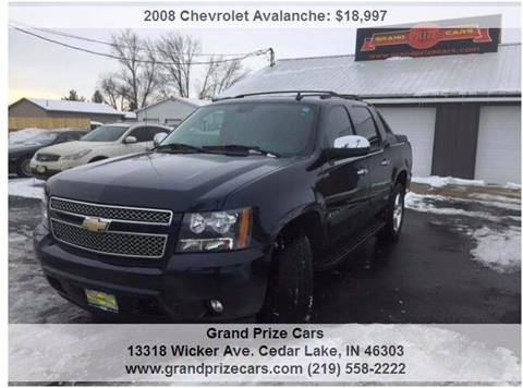 2008 Chevrolet Avalanche for sale at Grand Prize Cars in Cedar Lake IN