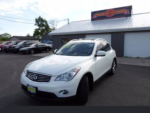 2008 Infiniti EX35 for sale at Grand Prize Cars in Cedar Lake IN