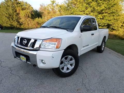 2008 Nissan Titan for sale at Grand Prize Cars in Cedar Lake IN