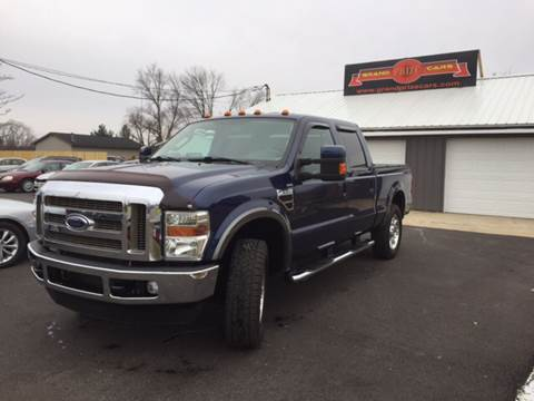 2008 Ford F-250 Super Duty for sale at Grand Prize Cars in Cedar Lake IN