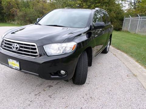 2008 Toyota Highlander for sale at Grand Prize Cars in Cedar Lake IN