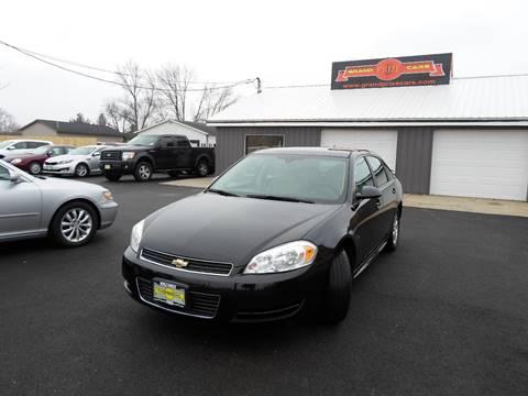 2009 Chevrolet Impala for sale at Grand Prize Cars in Cedar Lake IN