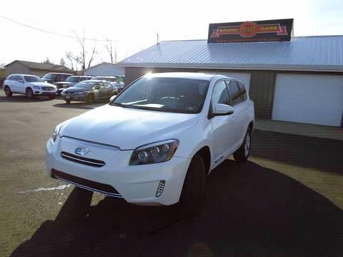 2012 Toyota RAV4 EV for sale at Grand Prize Cars in Cedar Lake IN
