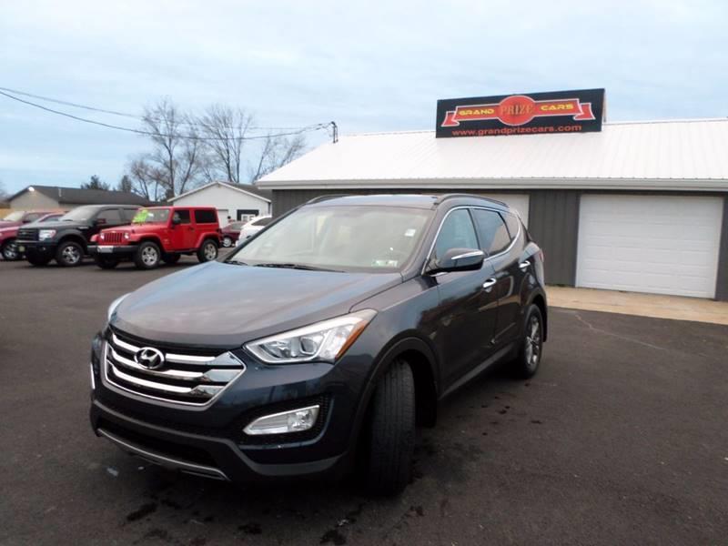 2013 Hyundai Santa Fe Sport For Sale At Grand Prize Cars In Cedar Lake IN