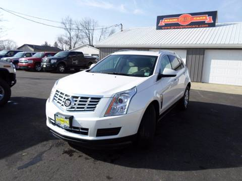 2015 Cadillac SRX for sale at Grand Prize Cars in Cedar Lake IN