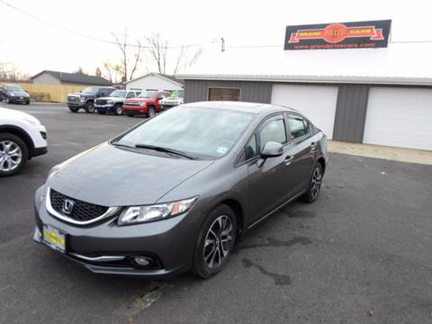 2013 Honda Civic for sale at Grand Prize Cars in Cedar Lake IN
