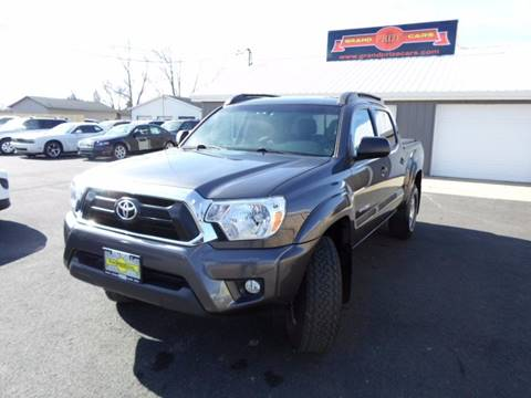2015 Toyota Tacoma for sale at Grand Prize Cars in Cedar Lake IN