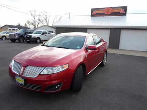 2010 Lincoln MKS for sale at Grand Prize Cars in Cedar Lake IN
