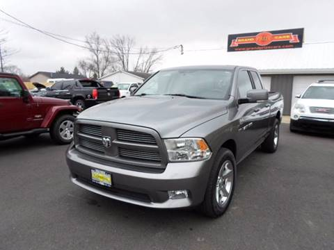 2011 RAM Ram Pickup 1500 for sale at Grand Prize Cars in Cedar Lake IN
