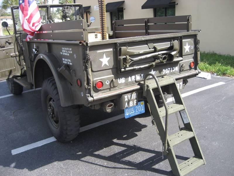 1962 Dodge M37 Military Pickup Truck In Cedar Lake IN - Grand Prize Cars