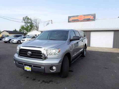 2008 Toyota Tundra for sale at Grand Prize Cars in Cedar Lake IN
