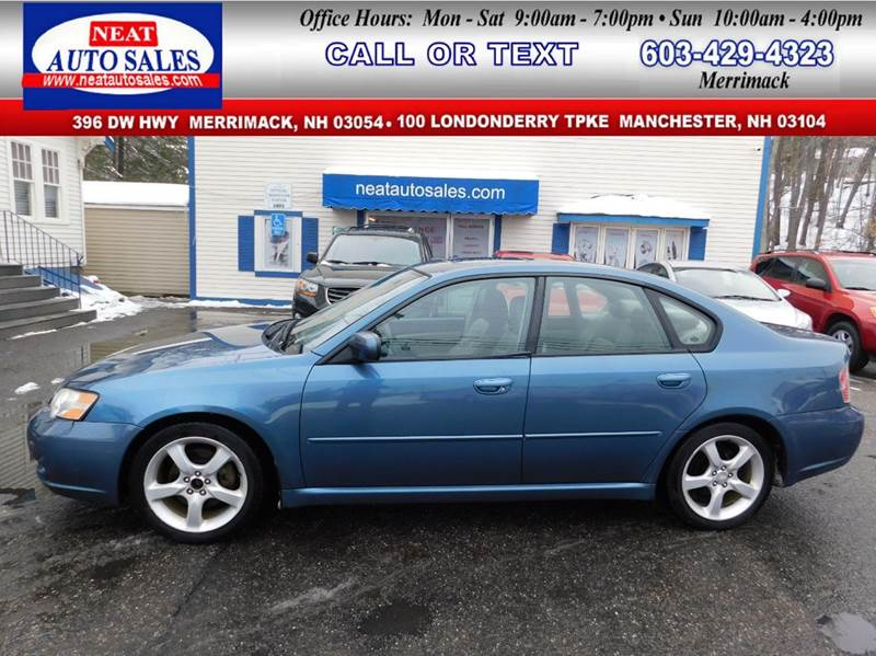 2006 Subaru Legacy In Manchester Nh Neat Auto Sales