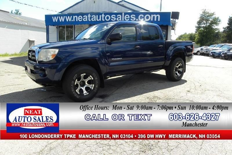 2006 Toyota Tacoma For Sale At Neat Auto Sales In Manchester NH