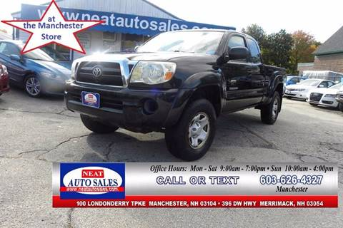 2006 Toyota Tacoma For Sale In Manchester, NH