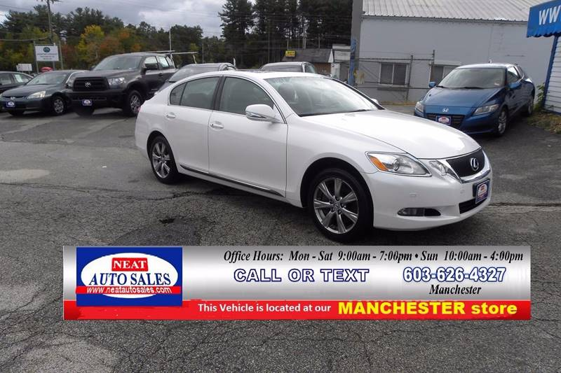 2008 Lexus GS 350 For Sale At Neat Auto Sales In Manchester NH