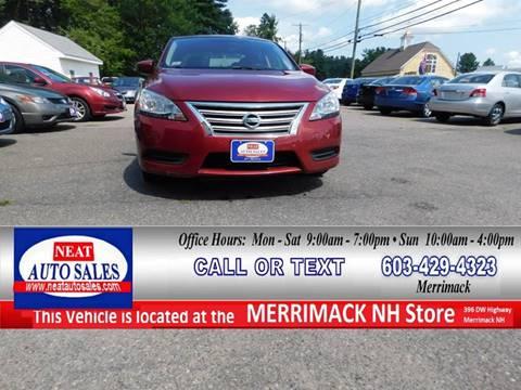 2015 Nissan Sentra for sale in Merrimack, NH