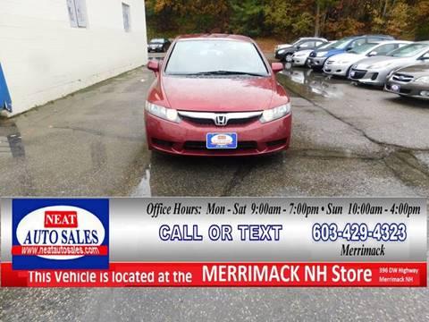 2010 Honda Civic for sale in Merrimack, NH