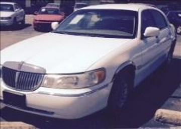 2001 Lincoln Town Car for sale at A & G Auto Sales in Lawton OK