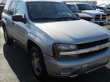 2008 Chevrolet TrailBlazer for sale at A & G Auto Sales in Lawton OK