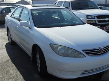 2005 Toyota Camry for sale at A & G Auto Sales in Lawton OK