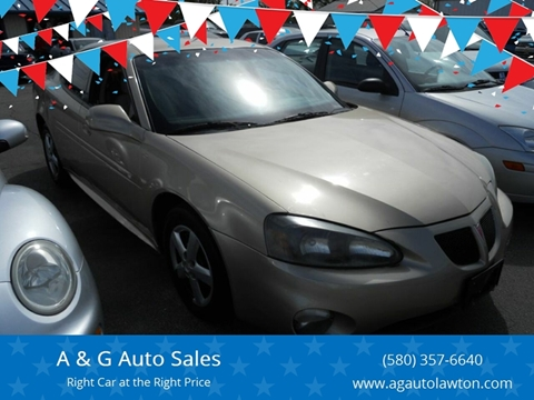 2005 Pontiac Grand Prix for sale in Lawton, OK