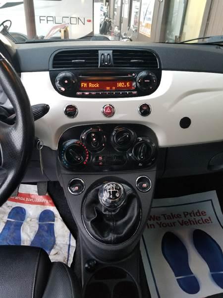 2012 fiat 500 sport hatchback
