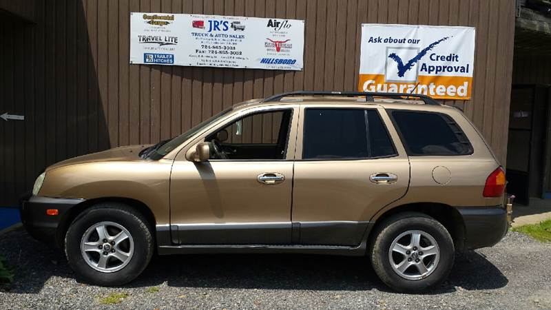 2004 Hyundai Santa Fe for sale at J.R.'s Truck & Auto Sales, Inc. in Butler PA