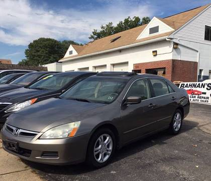 2007 Honda Accord for sale in Worcester, MA